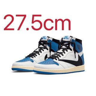 NIKE - Air Jordan1 Travis Scott×Fragment 27.5cm