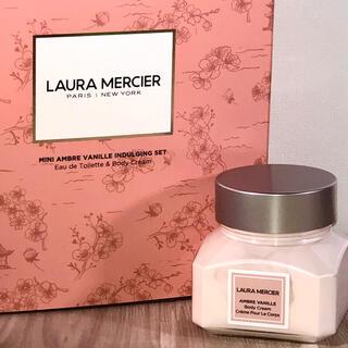laura mercier - ローラメルシエ ホイップトボディクリーム アンバーバニラ 60g 新品未開封品