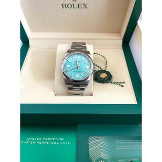 ROLEX ロレックス パーペチュアル 124300 ターコイズブルー