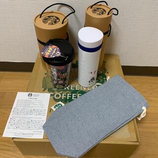 Starbucks Coffee - スターバックス 2021 25周年 夏の福袋 タンブラーミニバッグ3点セット