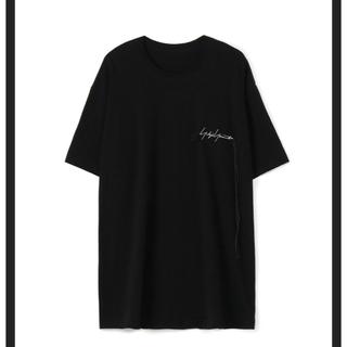 Yohji Yamamoto - 【美品】ヨウジヤマモト ロゴ入り 麻紐Tシャツ yohji Y-3