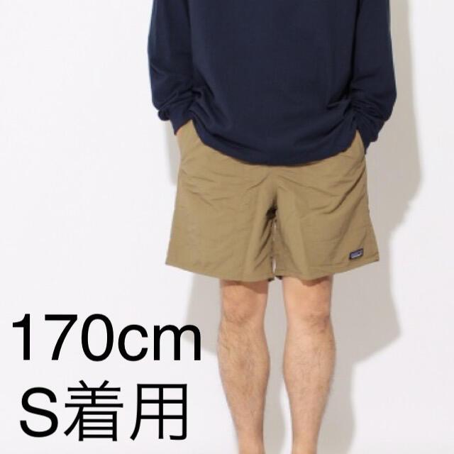 patagonia(パタゴニア)のパタゴニア バギーズロング 7インチ 国内正規品 アッシュタン 新品未使用品 メンズのパンツ(ショートパンツ)の商品写真