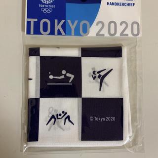 公式ライセンス レア 東京2020 オリンピック 雑貨 ハンカチ タオル