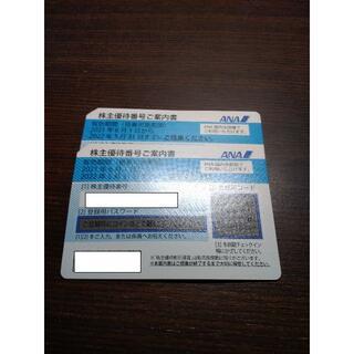 ANA(全日空) 株主優待券2枚(期限2022年5月31日)(その他)
