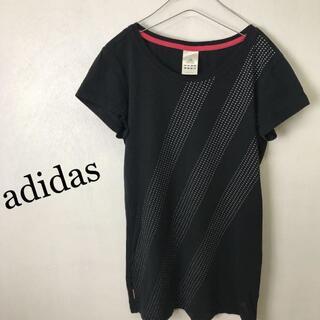 アディダス(adidas)のadidas アディダス コットン Tシャツ カットソー(カットソー(半袖/袖なし))