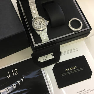 CHANEL - CHANEL  シャネル  J12  33ミリ レディース 確実正規品