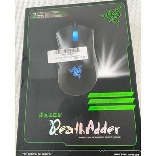 レイザー(LAZER)の【美品】Razer DEATHADDER  ゲーミングマウス(PC周辺機器)