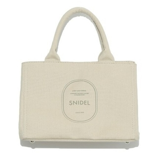 snidel - 新品タグ付 キャンパスエコバッグ 緑 SNIDEL
