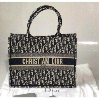 Christian Dior - christian dior book tote トートバッグ