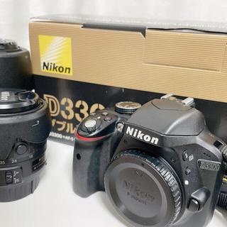 Nikon - 美品 付属品完備 動作確認済み Nikon D3300 ダブルズームキット