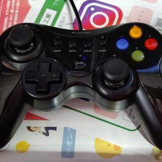 エレコム(ELECOM)の【即決】エレコム USBコントローラー 振動 連射 ゲームパッドエレコム ゲ(PC周辺機器)