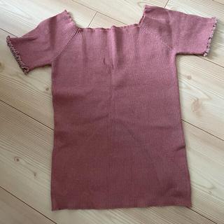 リリーブラウン(Lily Brown)のTシャツ カットソー トップス(Tシャツ(半袖/袖なし))
