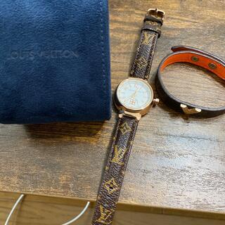 LOUIS VUITTON - ルイヴィトン ケース付き 時計⌚ ブレスレットはオマケ
