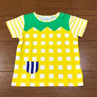 センスオブワンダー(sense of wonder)のセンスオブワンダー ベイビーチアー パイナップル Tシャツ(Tシャツ/カットソー)
