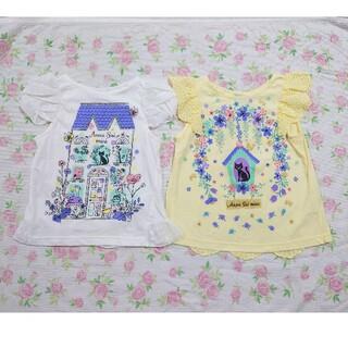 ANNA SUI mini - アナスイミニ Tシャツ セット 110