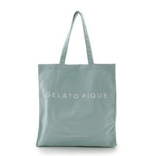 gelato pique - 【新品 タグ付き 未開封】ジェラートピケ トートバッグ グリーン