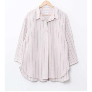 コーエン(coen)のCoen 7分袖スキッパーシャツ (フリーサイズ)(シャツ/ブラウス(長袖/七分))