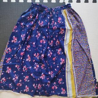 ローズバッド(ROSE BUD)のROSE BUDリバーシブル ミモレ丈スカート(ロングスカート)