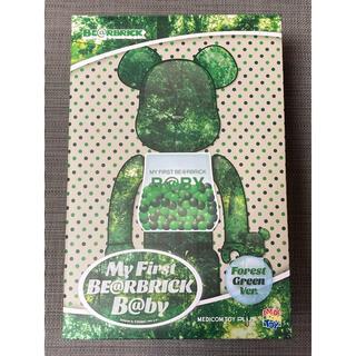 メディコムトイ(MEDICOM TOY)のMY FIRST BE@RBRICK B@BY FOREST GREEN(キャラクターグッズ)