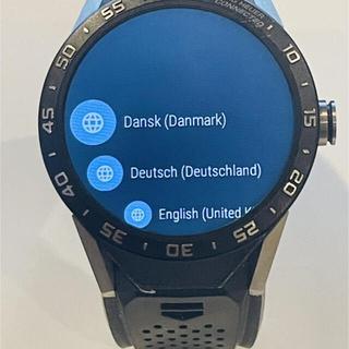 タグホイヤー(TAG Heuer)のsi-様専用TAG HEUER タグホイヤーコネクテッド 送料無料(腕時計(デジタル))