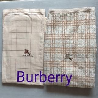 BURBERRY - 西川産業 綿毛布 シーツ シングル