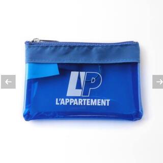 L'Appartement DEUXIEME CLASSE - Translucent Zippred Coin Pouch ブルー