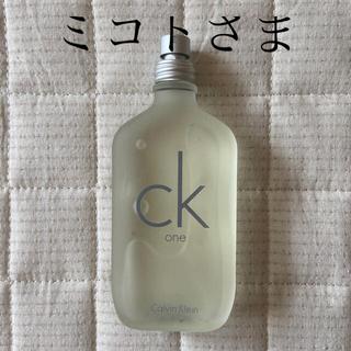 シーケーカルバンクライン(ck Calvin Klein)の【残量9.8割】カルバンクライン CK1   香水(ユニセックス)