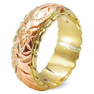 指輪 レディース リング プルメリア ハワイアン ファッション ジュエリー ◎