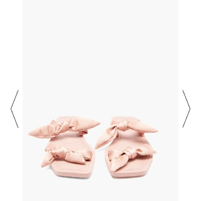 Drawer(ドゥロワー)のCarlotha Ray リボン サンダル カルロッタレイ レディースの靴/シューズ(サンダル)の商品写真