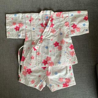 ミキハウス(mikihouse)の美品 ミキハウス 甚平 90(甚平/浴衣)