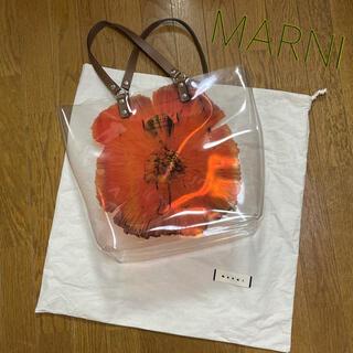 Marni - ほぼ新品 マルニ MARNI ビニールバッグ