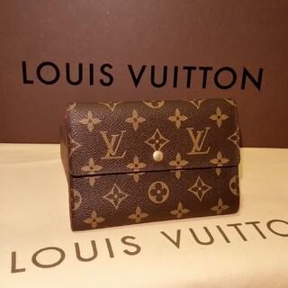 LOUIS VUITTON - ほぼ未使用 綺麗、折り財布