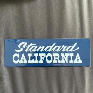 standard California ステッカー スタンダードカリフォルニア
