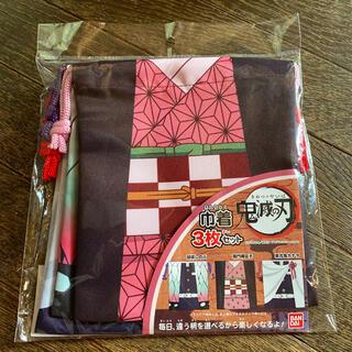 バンダイ(BANDAI)の送料込 新品 BANDAI バンダイ鬼滅の刃 巾着 3枚セット(ランチボックス巾着)