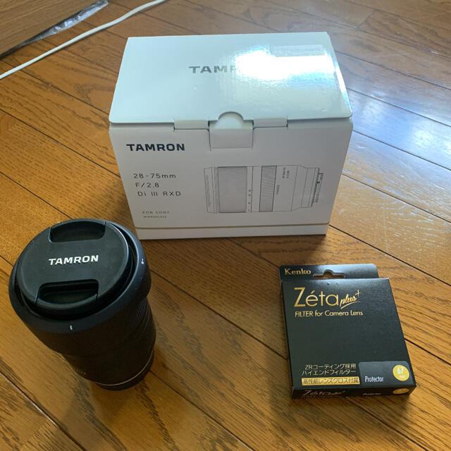 TAMRON(タムロン)の8/20まで 美品 タムロン28ー75mm f/2.8 Di III RXD  スマホ/家電/カメラのカメラ(レンズ(ズーム))の商品写真