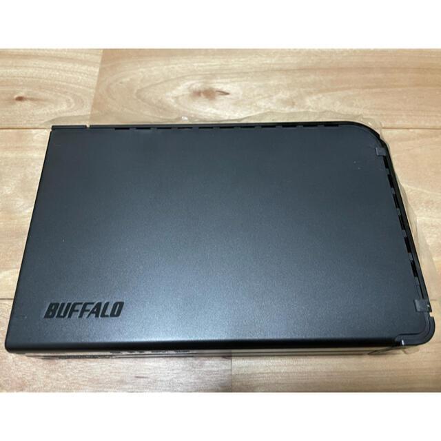 Buffalo(バッファロー)の外付けHDD 2TB BUFFALO HD-LB2.0TU2 スマホ/家電/カメラのPC/タブレット(PC周辺機器)の商品写真