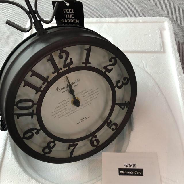新品 アンティークアイアン 壁掛け時計 インテリア/住まい/日用品のインテリア小物(掛時計/柱時計)の商品写真