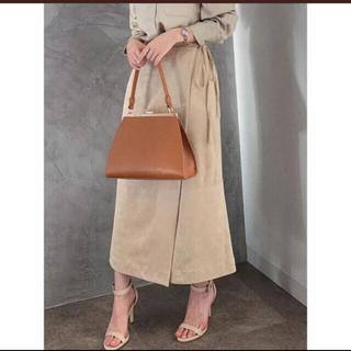 Noble - anuans フェイクスウェードラップタイトスカート