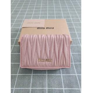 miumiu - ❥素敵♬❀MIUMIU❥さいふ❀ミュウミュウ  小銭入れ  カード入れ ピンク