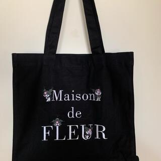 Maison de FLEUR - メゾンドフルールトートバッグ 黒色 新品