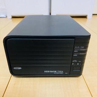 コレガ CG-NSC2100GT HDD(1TB)x2個付属 NAS