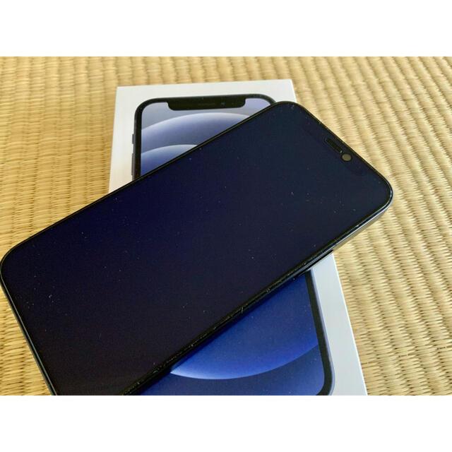 iPhone(アイフォーン)の新品同様 iPhone 12 mini 64GB SIMフリー ブラック スマホ/家電/カメラのスマートフォン/携帯電話(スマートフォン本体)の商品写真