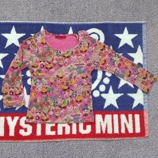 ヒステリックミニ(HYSTERIC MINI)の8 ロングTシャツ 総柄 ミニちゃん(Tシャツ)