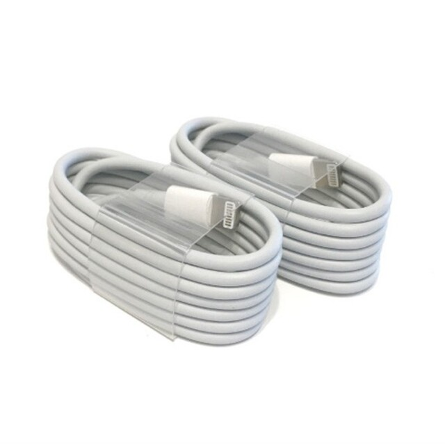 Apple(アップル)の充電器 ライトニングケーブル Apple 純正品質 iPhone 充電ケーブル2 スマホ/家電/カメラのスマートフォン/携帯電話(バッテリー/充電器)の商品写真