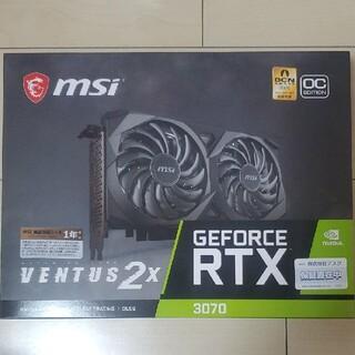 NO LHR 新品未開封 MSI RTX 3070 VENTUS 2X OC