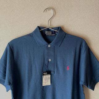 POLO RALPH LAUREN - Ralph Lauren ラルフローレン タグ付き ポロシャツ ブルー S