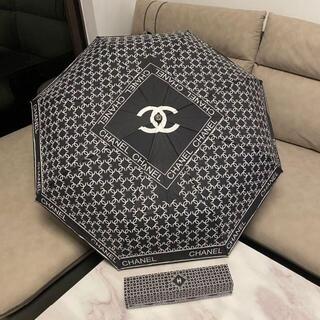 CHANEL - シャネル CHANEL ノベルティ 自動折り畳み傘