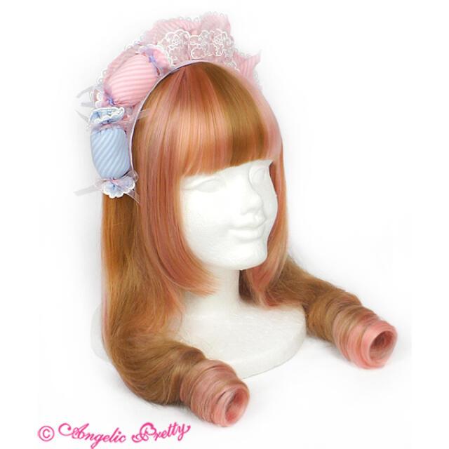 Angelic Pretty(アンジェリックプリティー)のSugar Candy Shopジャンパースカート セット レディースのワンピース(ひざ丈ワンピース)の商品写真