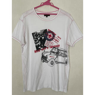 ベンシャーマン(Ben Sherman)のBen Sherman ベンシャーマン パッチ縫い付け半袖Tシャツ L(Tシャツ/カットソー(半袖/袖なし))