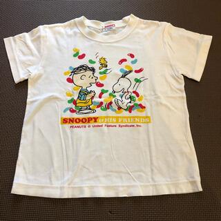 ファミリア(familiar)のファミリア スヌーピーTシャツ 100cm(Tシャツ/カットソー)